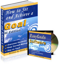 Goal Setting Software and Ebook
