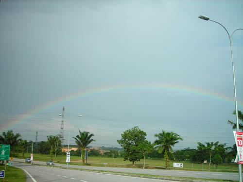 The beautiful Rainbow